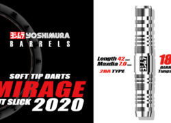 MIRAGE 2020 2BA SOFT TIP DARTS